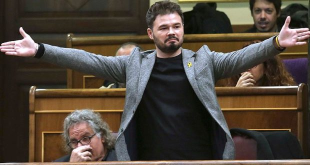Gabriel Rufían le cuesta 105.000 euros al año a todos los españoles