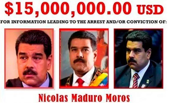 Estados Unidos pone precio a Nicolás Maduro