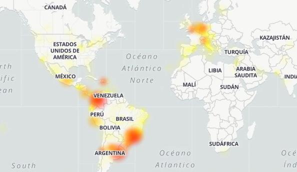 Caída mundial de Whatsapp, Instagram y problemas en Facebook en plena cuarentena por el coronavirus